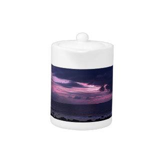 Stormy Sunset Teapot