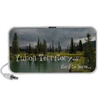 Stormy Tranquility; Yukon Territory Souvenir Speaker