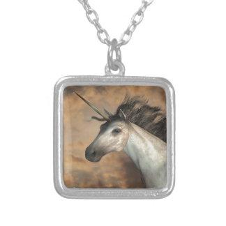 Stormy Unicorn Personalized Necklace