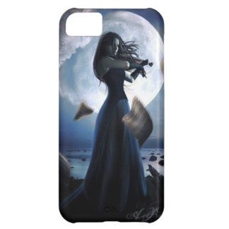 Stormy Violinist Blues Gothic Case For iPhone 5C