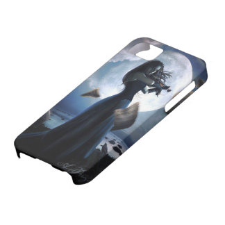 Stormy Violinist Blues Gothic iPhone SE/5/5s Case