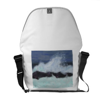 Stormy Waters Art Courier Bag