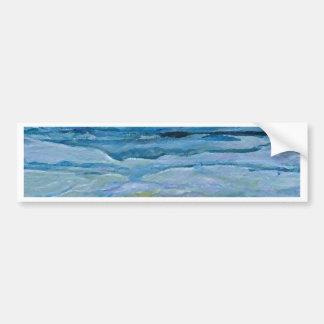 Stormy Waves  CricketDiane Ocean Art Car Bumper Sticker