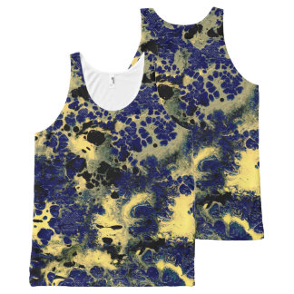 STORMY WEATHER (an abstract art design) ~.jpg All-Over Print Tank Top