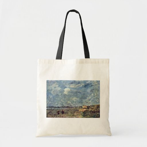Stormy Weather. Banks Of The Pas-De-Calais By Coro Tote Bags