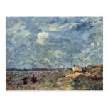 Stormy Weather. Banks Of The Pas-De-Calais By Coro Postcard