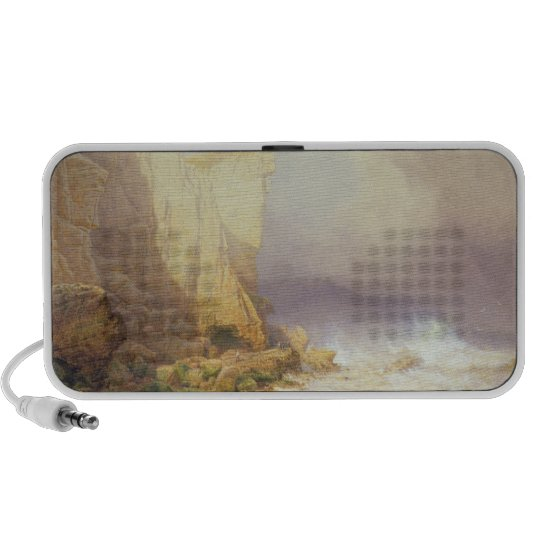 Stormy Weather, Clearing Seaton Cliffs Portable Speaker