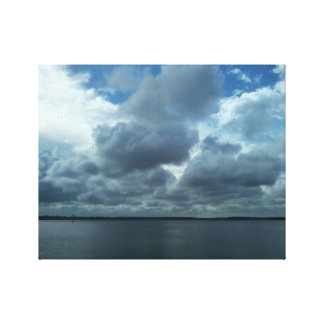 Stormy Weather Clouds Canvas Print