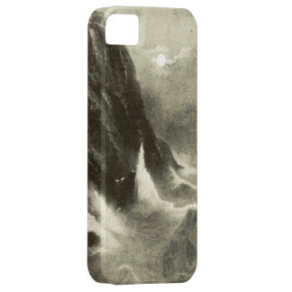 Stormy Weather Moonlight, Gay Head, the  Vineyard iPhone SE/5/5s Case