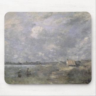 Stormy Weather, Pas de Calais, c.1870 Mouse Pad
