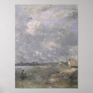 Stormy Weather, Pas de Calais, c.1870 Poster