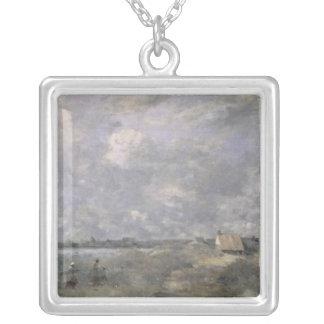 Stormy Weather, Pas de Calais, c.1870 Silver Plated Necklace