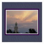 Stormy Weather Poster with Faux Matting