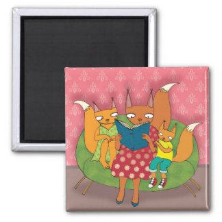 Story 2 Inch Square Magnet