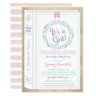Fairytale Baby Shower Invitations Announcements Zazzle