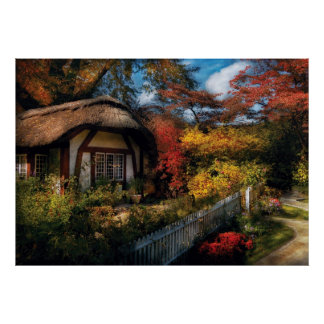 Story Book - Grannies Cottage Poster