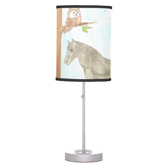 Story book table lamp