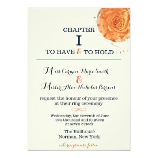 Story Book Wedding Invitation
