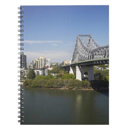 Story Bridge, Brisbane River, and Kangaroo Notebook
