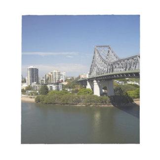 Story Bridge, Brisbane River, and Kangaroo Notepad