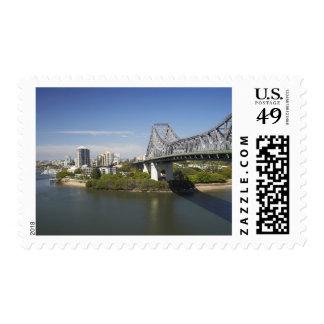Story Bridge, Brisbane River, and Kangaroo Postage