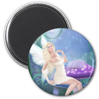 Story Fairy 2 Inch Round Magnet