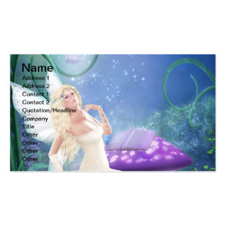 Story Fairy Business Card Template