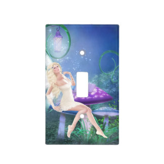 Story Fairy Light Switch Cover