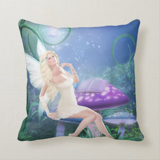 Story Fairy Throw Pillow