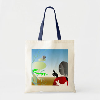 Story Teller Budget Tote Bag