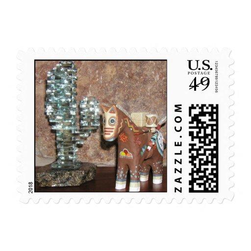 Story Teller Horse Stamp