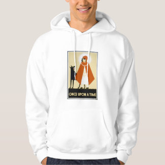 Story Telling - Red Riding Hood Hooded Pullover
