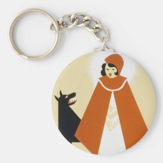 Story Telling - Red Riding Hood Keychain