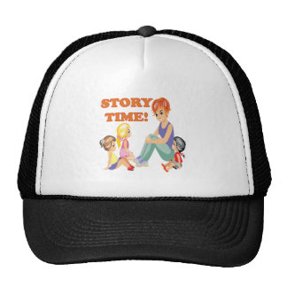 Story Time 3 Trucker Hat