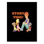 Story Time 3 Postcard
