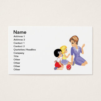 Story Time Business Card