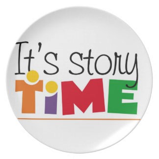 Story time dinner plate