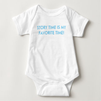 Story time is my favorite time bodysuit tee!