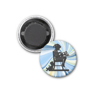 Story Time 1 Inch Round Magnet