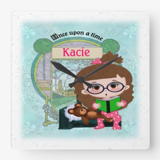Story-time Personalized Wall Clock