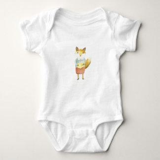 Story Time With Grandma Fox Baby Bodysuit