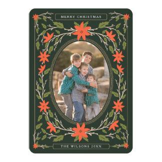 Storybook 2 Photo Christmas 5x7 Paper Invitation Card