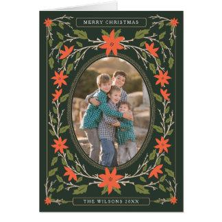 Storybook 2 Photo Christmas Greeting Card