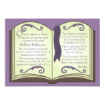 "Storybook Baby Shower Invitations 5"" X 7"" Invitation Card"