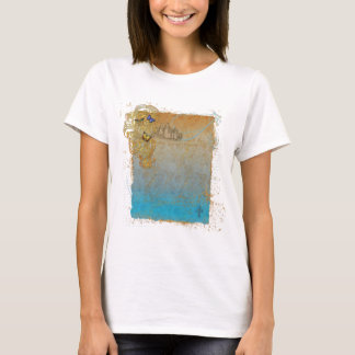 Storybook Fairy Tale Castle Design T-Shirt