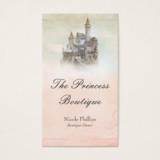 Storybook Fairytale Castle Boutique Business Card
