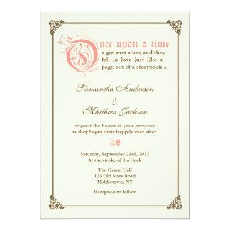 Find customizable Fairytale Wedding invitations & announcements of all sizes. Pick your favorite invitation design from our amazing selection.