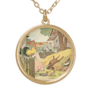 Storybook Farm Aminals Necklaces