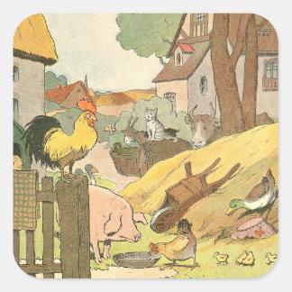 Storybook Farm Aminals Stickers