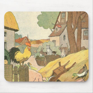 Storybook Farm Animals Mouse Pad